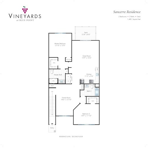 Sancerre Floor Plan